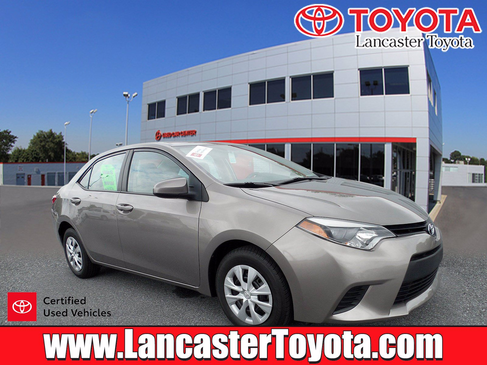 Certified Pre-Owned 2014 Toyota Corolla LE ECO