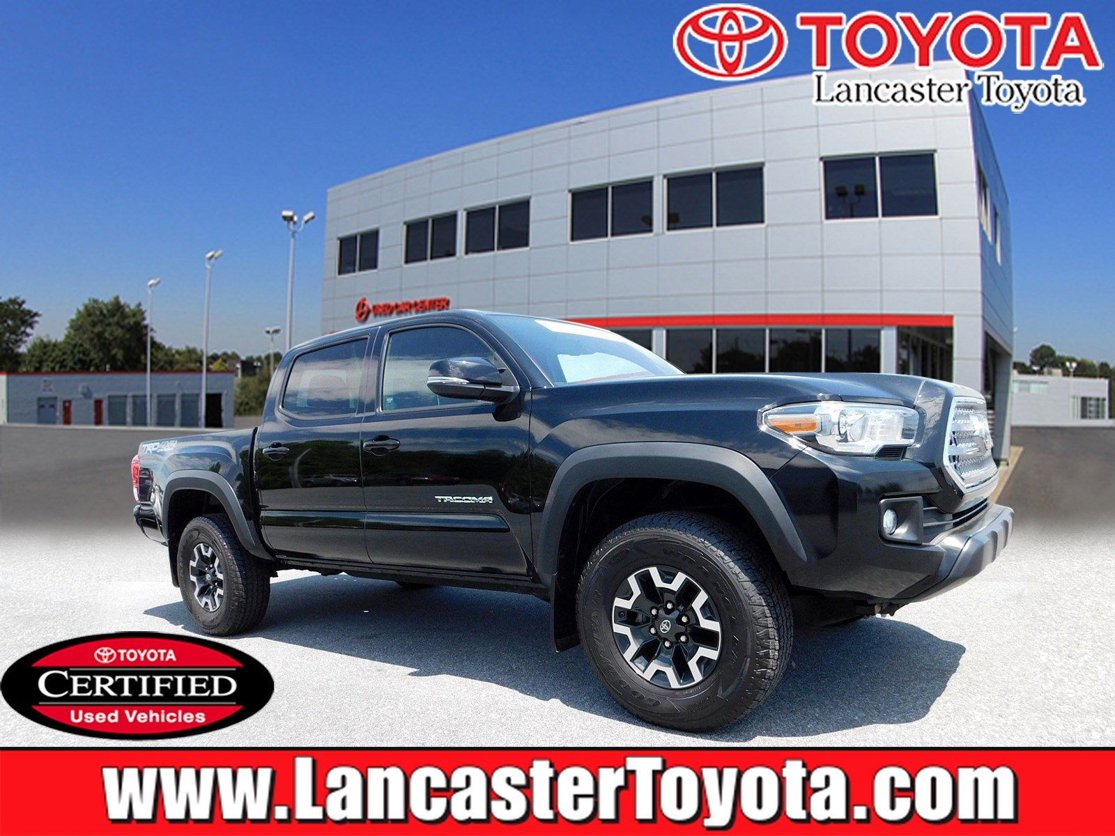 Certified Pre Owned 2017 Toyota Tacoma Trd Off Road