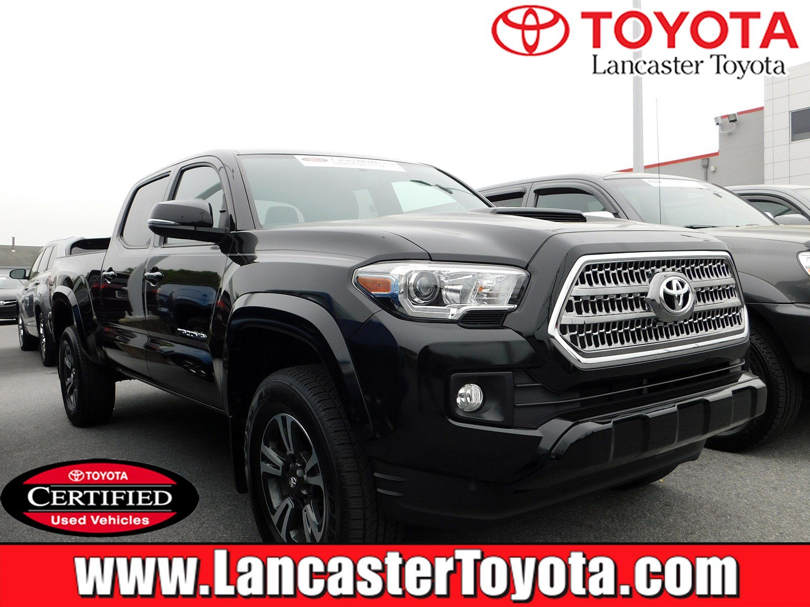 Certified Pre Owned 2017 Toyota Tacoma Trd Sport
