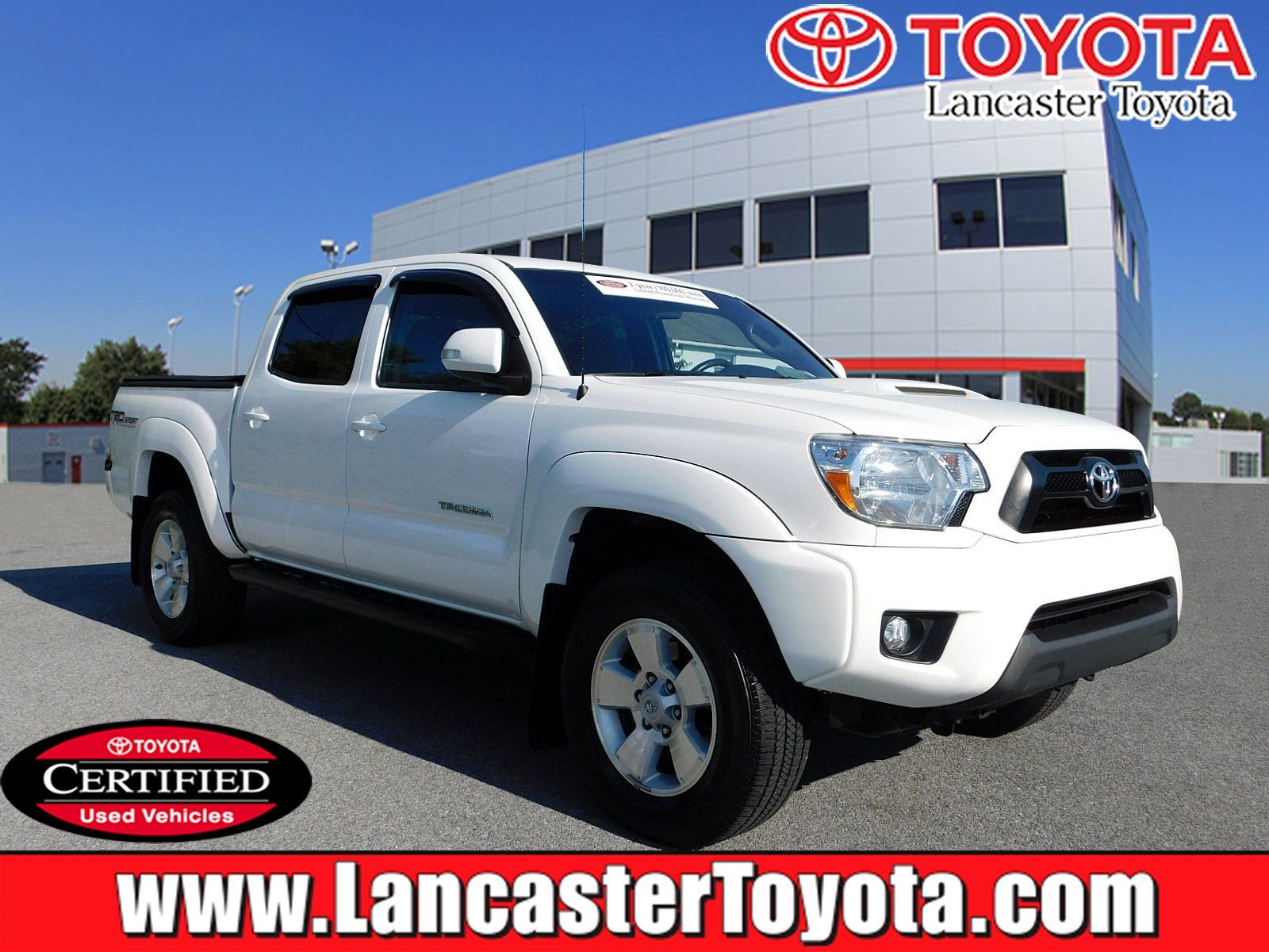 Certified Pre Owned 2015 Toyota Ta a TRD Pro Crew Cab Pickup in