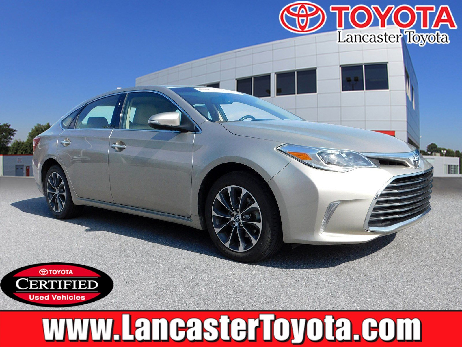 Certified Pre Owned 2016 Toyota Avalon Xle Plus