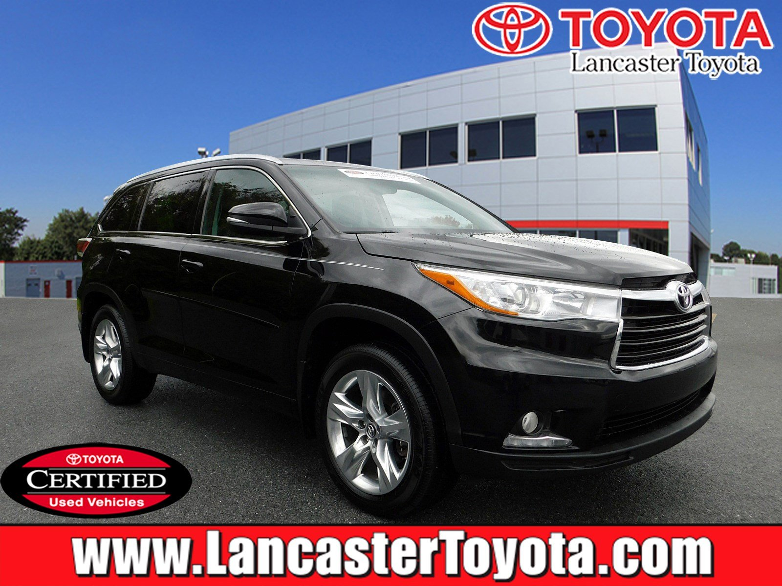 Certified Pre Owned 2016 Toyota Highlander Limited