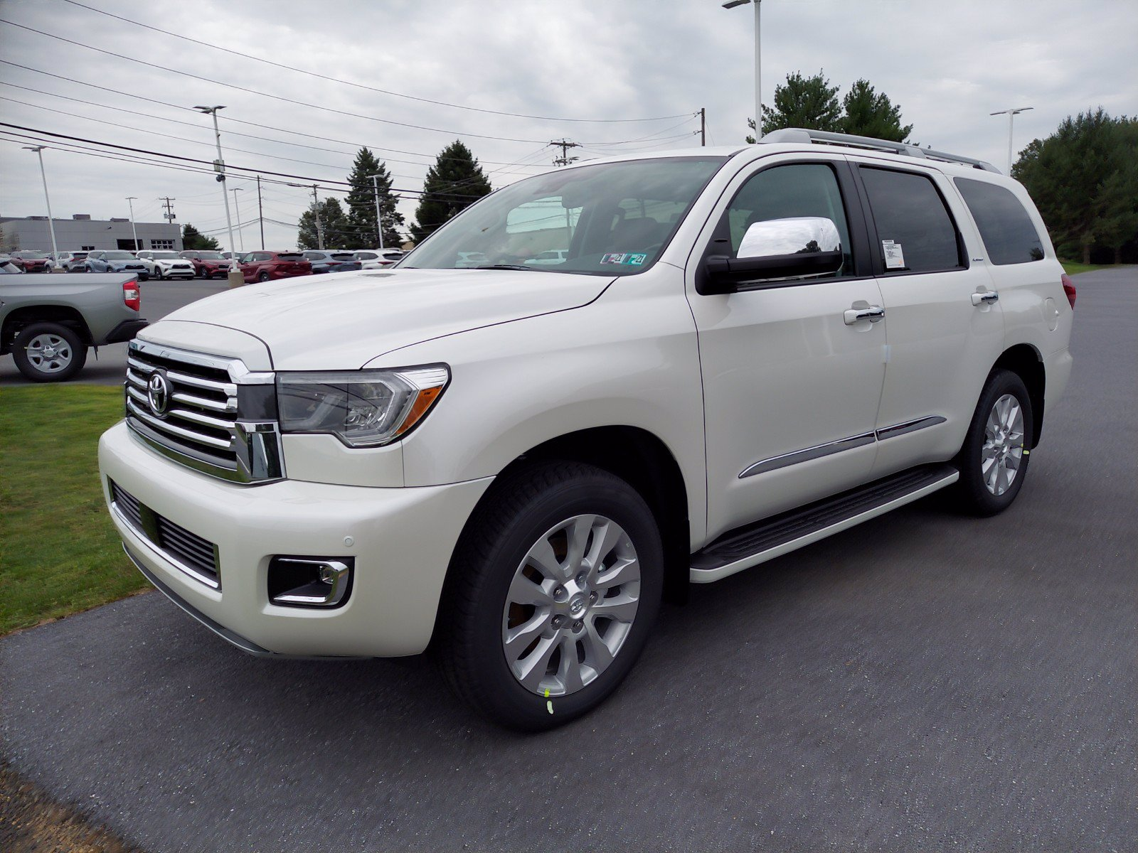 New 2020 Toyota Sequoia Platinum Sport Utility in East ...