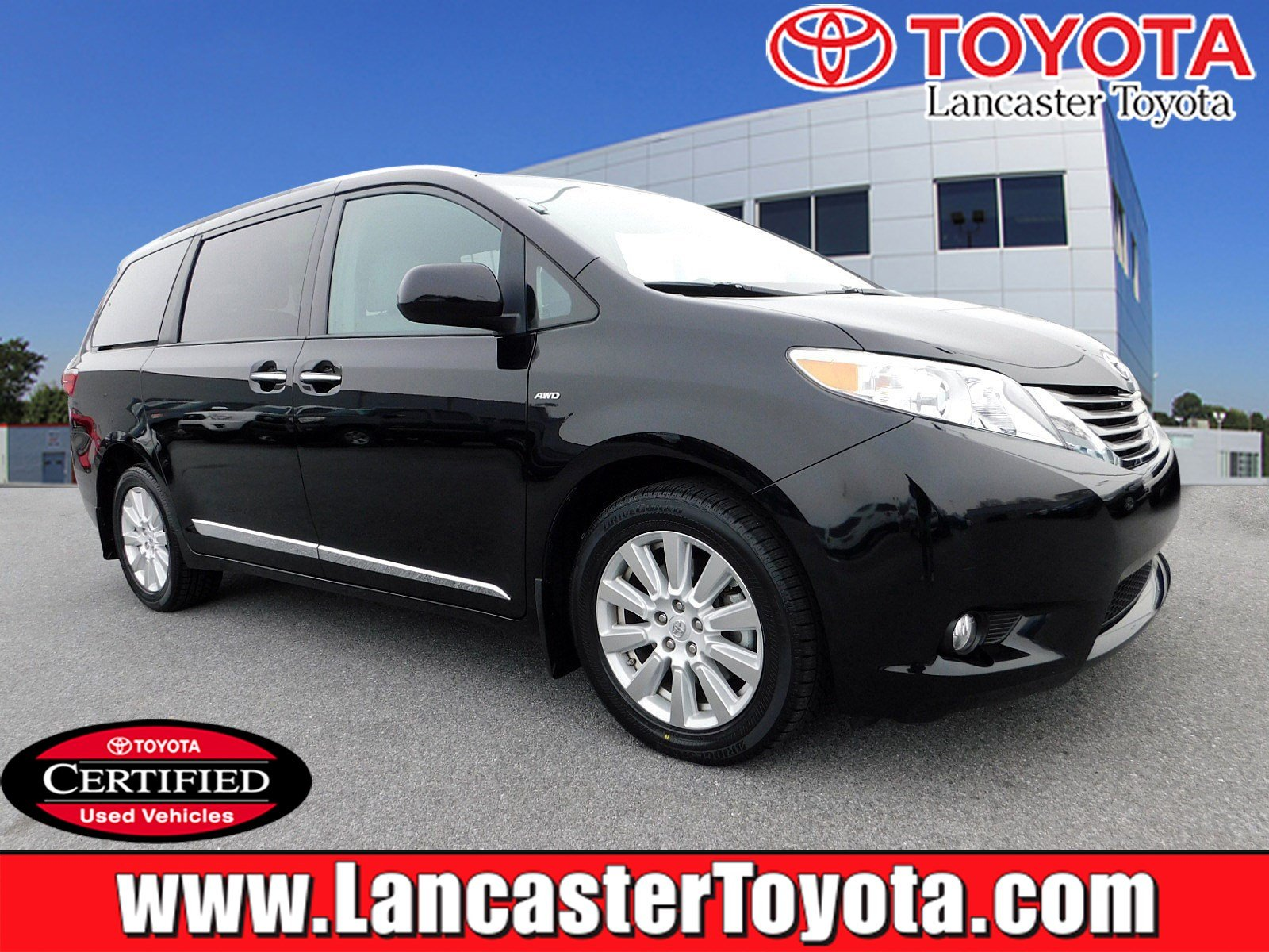 Certified Pre Owned 2017 Toyota Sienna Xle Premium