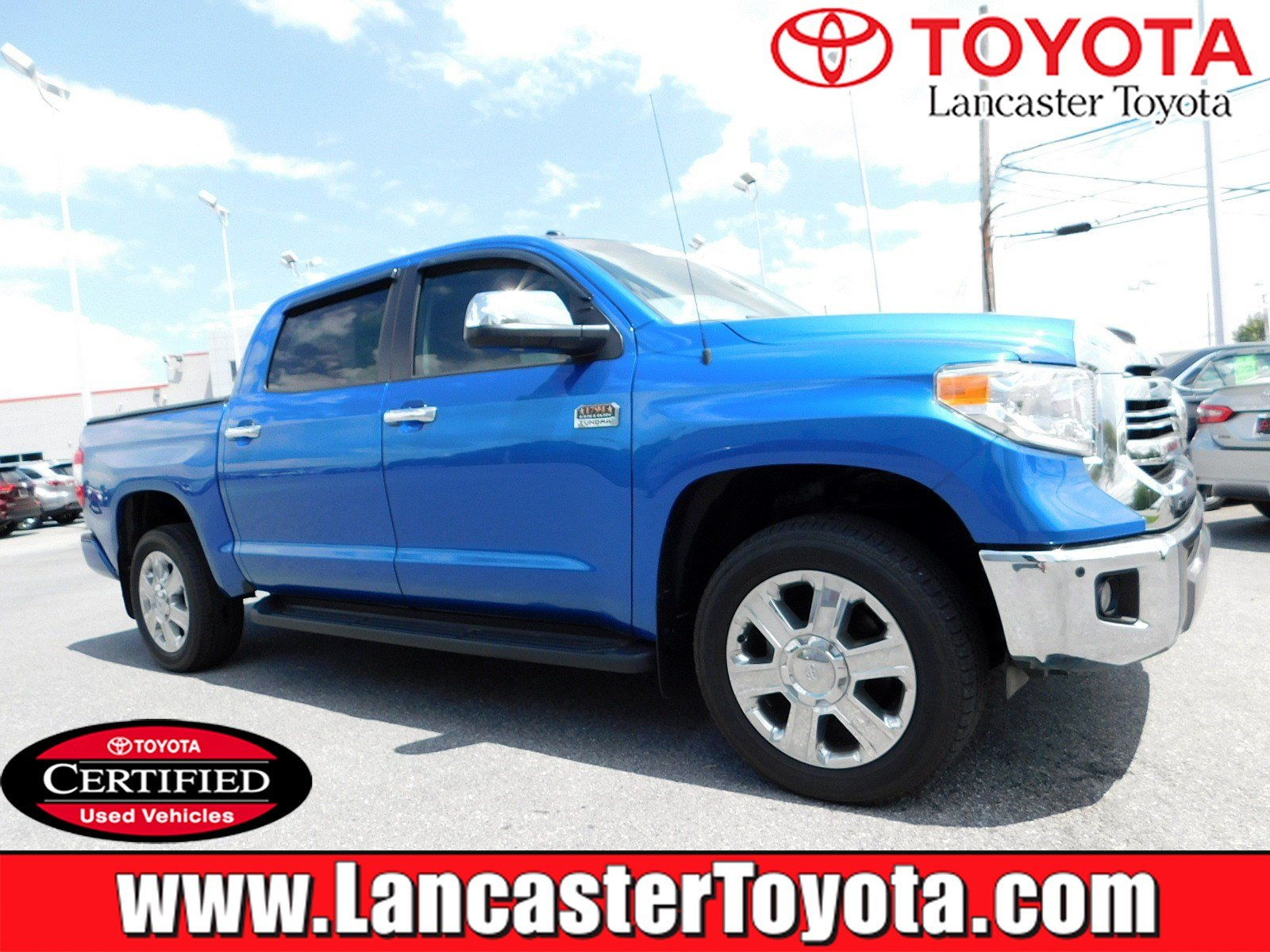 Certified Pre Owned 2017 Toyota Tundra 1794 Edition