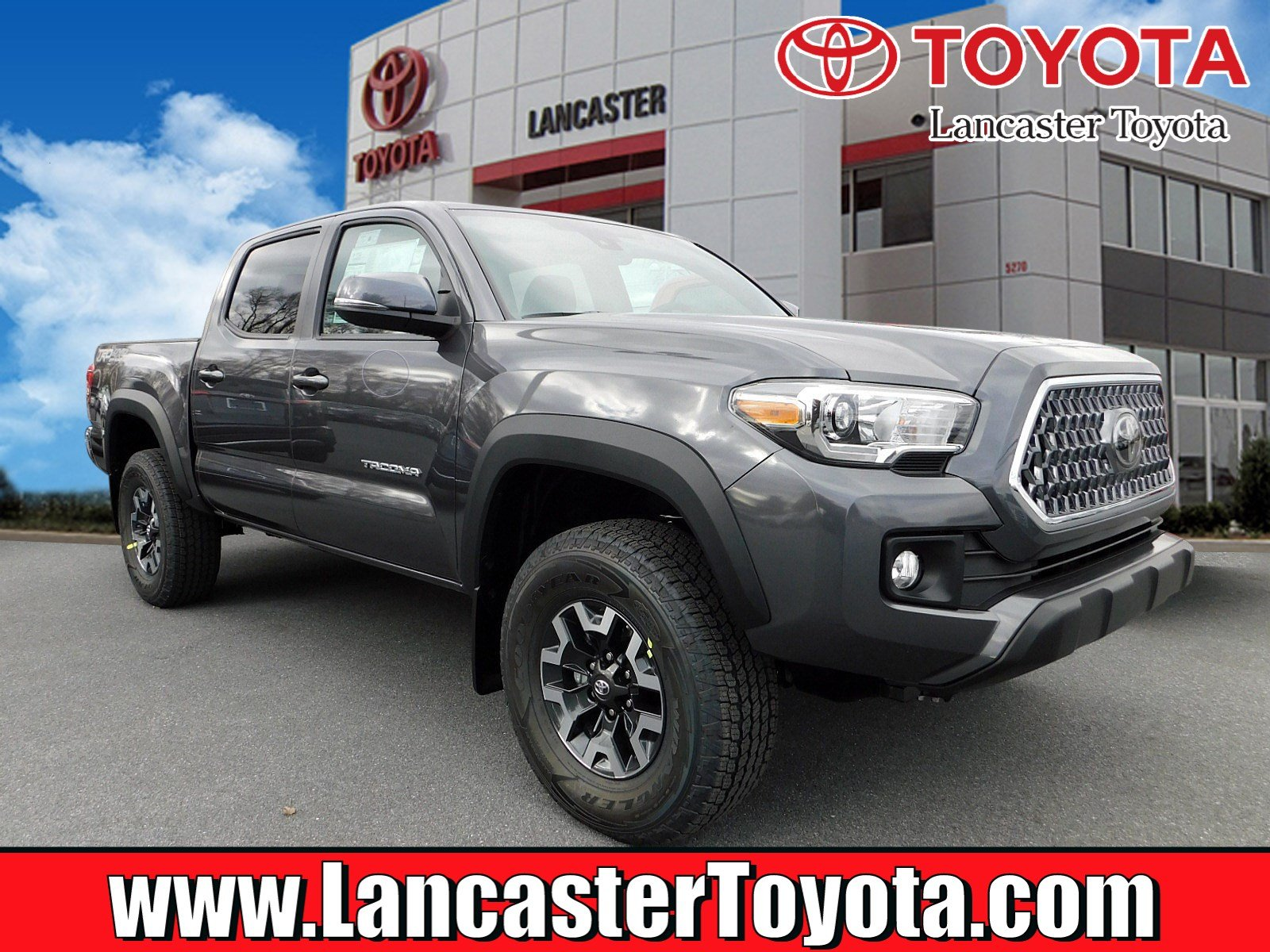 New 2019 Toyota Ta a TRD f Road Double Cab in East Petersburg
