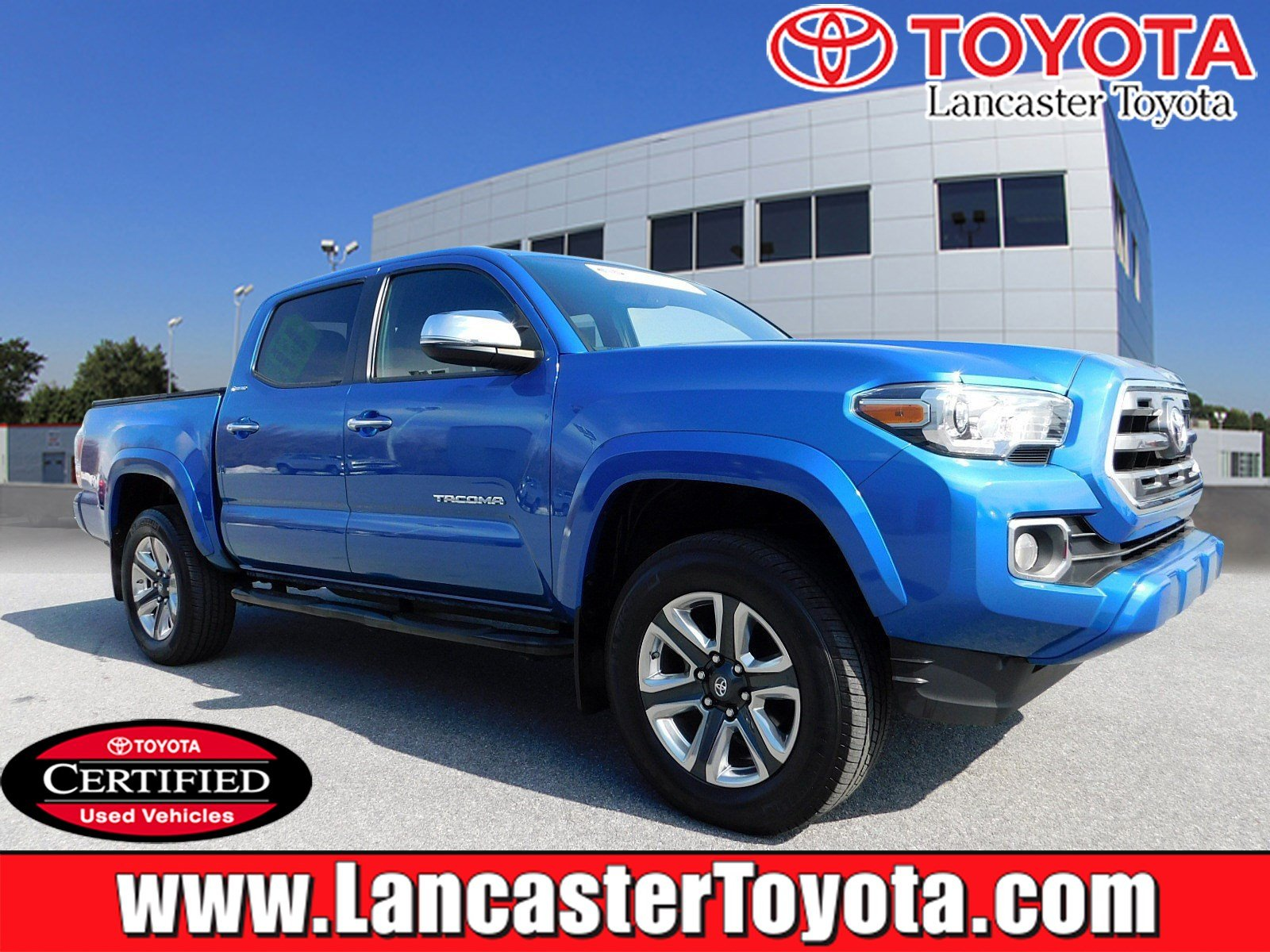 Certified Pre Owned 2016 Toyota Tacoma Limited