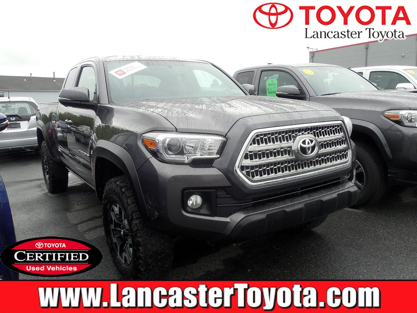 Certified Pre-Owned 2016 Toyota Tacoma TRD Off Road