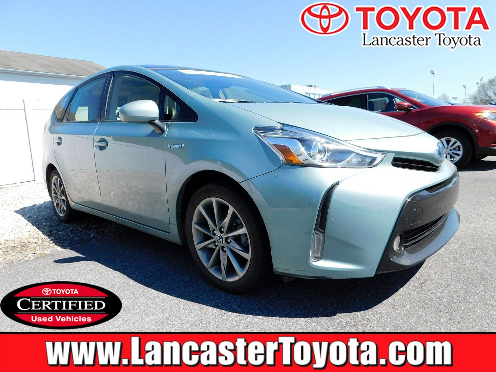 Certified Pre-Owned 2015 Toyota Prius V Five
