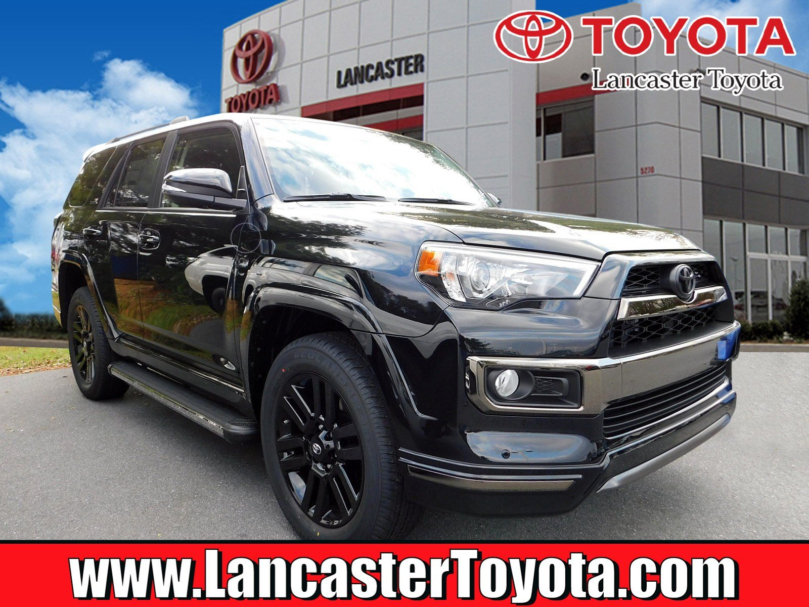 New 2019 Toyota 4runner Limited Nightshade Sport Utility In East