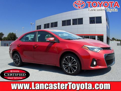 Certified Pre-Owned 2015 Toyota Corolla S Premium